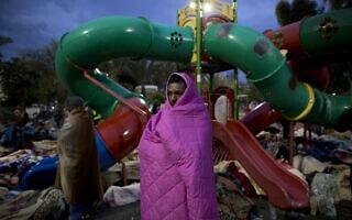 מחאת פליטים בתל אביב, 2014 (צילום: AP Photo/Oded Balilty)