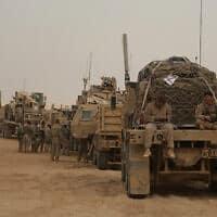 חיילים אמריקאים במערב עירק – ארכיון (צילום: Khalid Mohammed, AP)