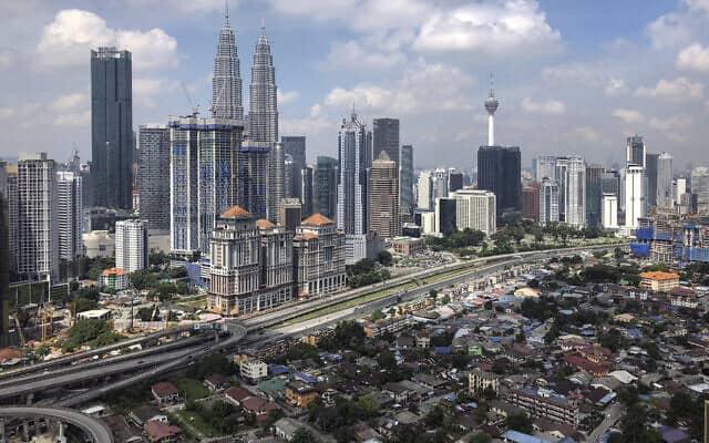 קואלה למפור, בירת מלזיה (צילום: AP Photo/Vincent Thian)