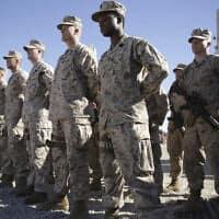 חיילים אמריקאים באפגניסטן (צילום: Massoud Hossaini, AP)