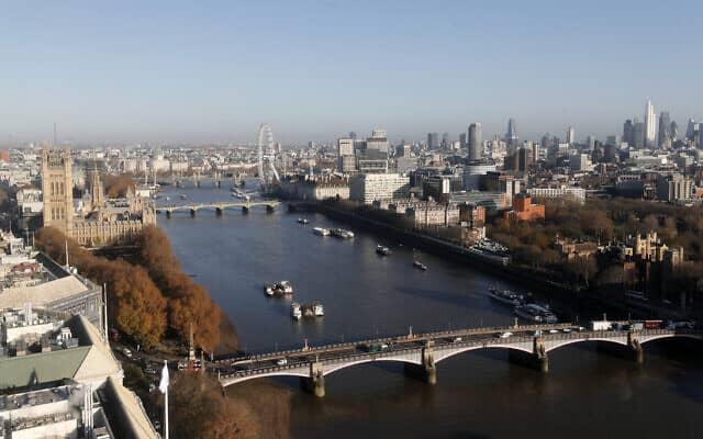 לונדון (צילום: AP Photo/Frank Augstein)