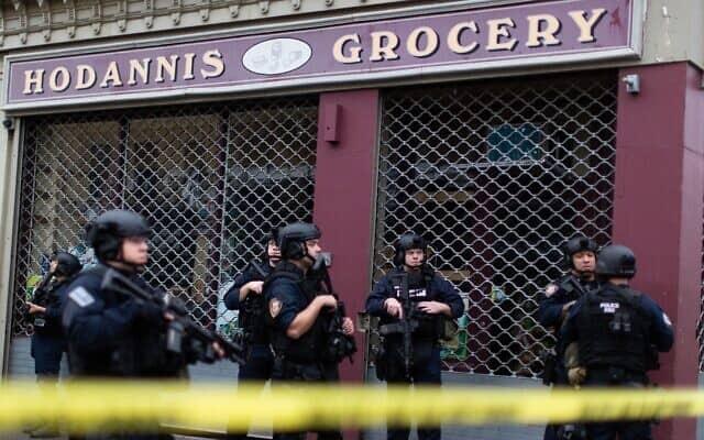 זירת הירי בניו ג'רזי, 10 בדצמבר 2019 (צילום: AP)