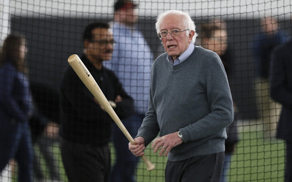 Bernie Sanders (צילום: AP Photo/Charlie Neibergall)