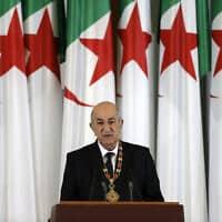 נשיא אלג'יריה, עבד אל-מג'יד תבון (צילום: Toufik Doudou, AP)