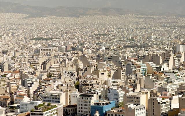 אתונה (צילום: AP Photo/Daniel Ochoa de Olza)