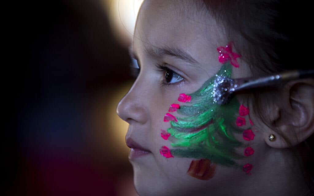חג המולד בארגנטינה (צילום: AP Photo/Natacha Pisarenko)