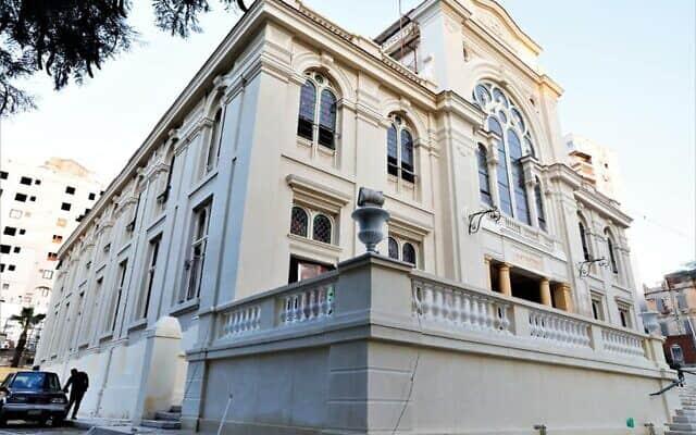 בית הכנסת אליהו הנביא, ב-20 בדצמבר, 2019 (צילום: משרד העתיקות המצרי)