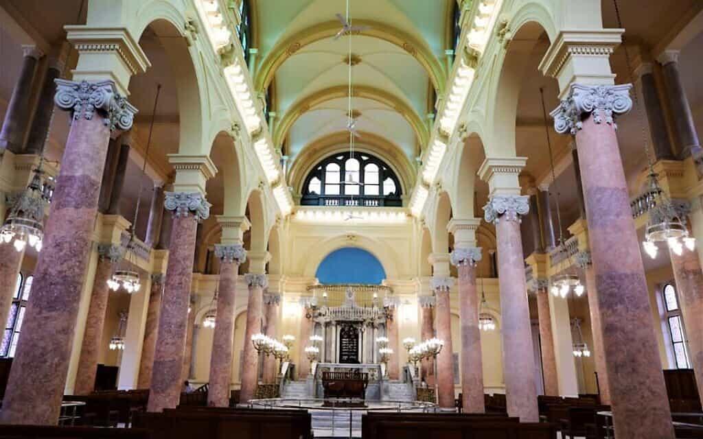 בית הכנסת אליהו הנביא (צילום: משרד העתיקות המצרי)