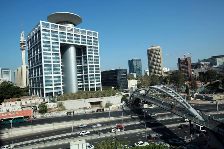 בניין משרד הביטחון בקריה שבתל אביב (צילום: משה שי, פלאש 90)