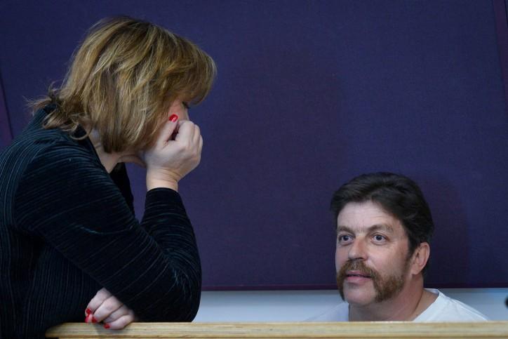 דוד גודובסקי ופאינה קירשנבאום