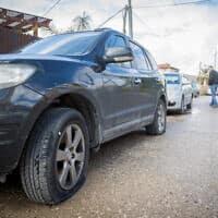 כלי רכב שהושחתו – ארכיון (צילום: יונתן זינדל, פלאש 90)