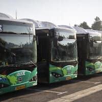 תחבורה ציבורית. אילוסטרציה (צילום: Hadas Parush/Flash90)