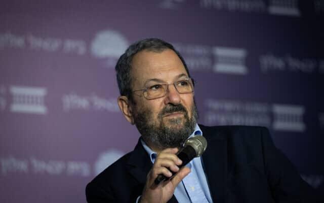 אהוד ברק (צילום: יונתן זינדל, פלאש 90)