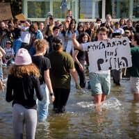 מחאת האקלים בתל אביב, ב-29 בנובמבר 2019 (צילום: אבשלום ששוני/פלאש90)