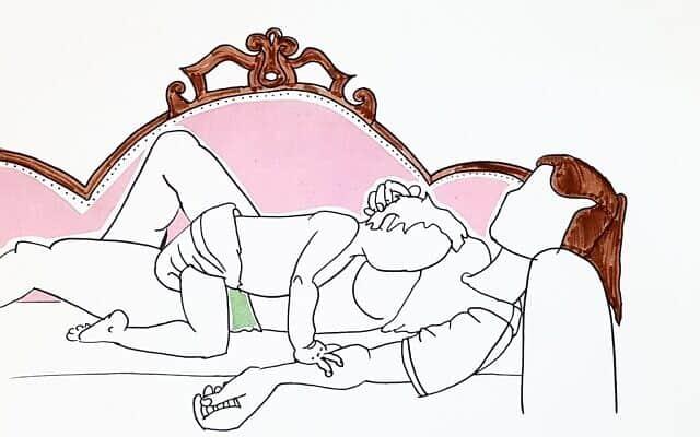 אם ובתה (צילום: הדף הלבן לא מפחיד אותי)
