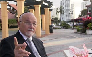 הרב פנחס ברנר (צילום: גיל שפלר\ JTA)