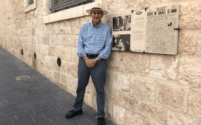 דניאל צ'רטוף (צילום: (Jessica Steinberg/Times of Israe)
