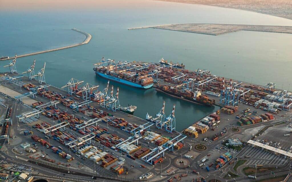 נמל חיפה (צילום: דברות נמל חיפה)