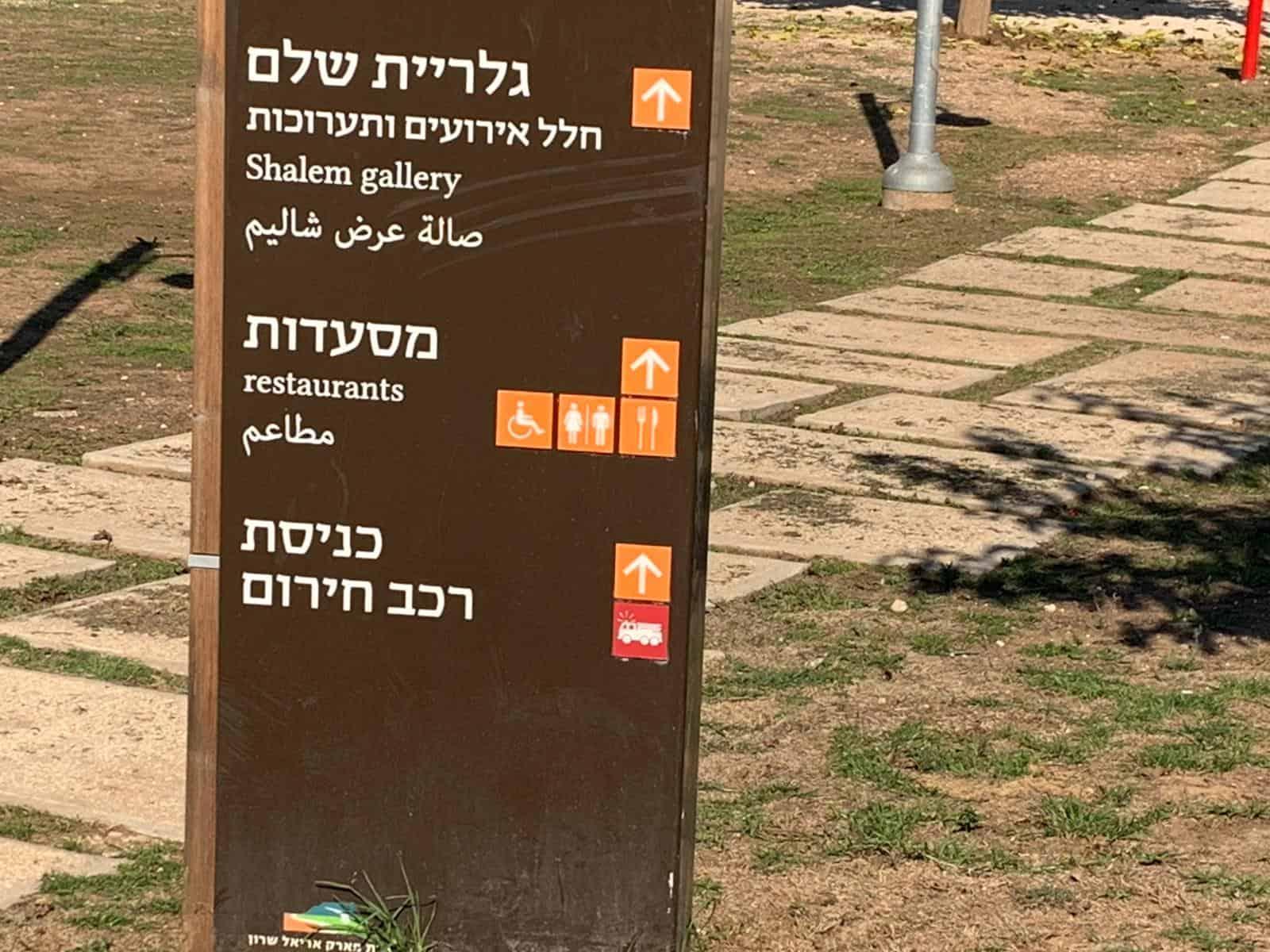 פארק אריאל שרון (צילום: אבנר הופשטיין)