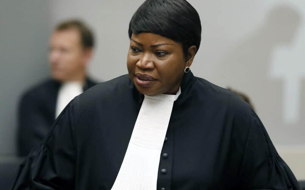 התובעת הראשית בבית הדין הפלילי הבינלאומי בהאג, פאטו בנסודה (צילום: Bas Czerwinski, AP)