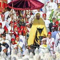 חסן השישי מלך מרוקו (צילום: Moroccan Royal Palace via AP)
