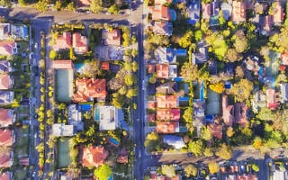 D Mosman Streets Top down (צילום: zetter/iStock)