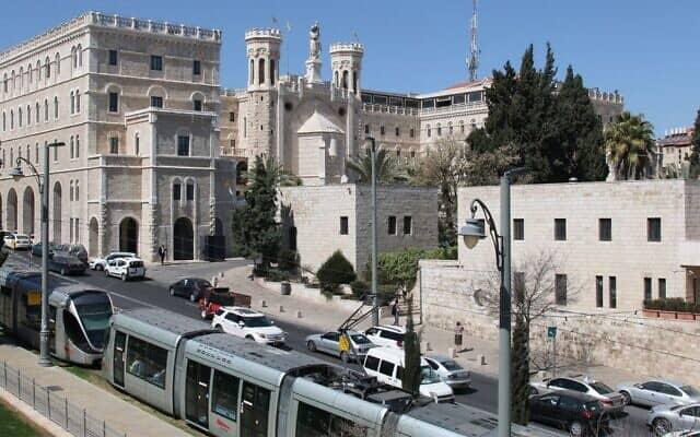 המלון שבו ייערך טורניר השח בירושלים (צילום: Shmuel Bar-Am)