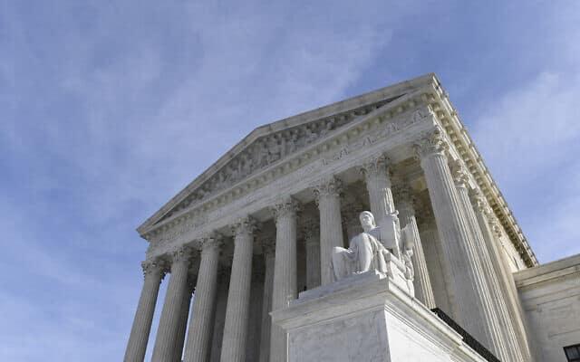 בית המשפט העליון של ארצות הברית (צילום: Susan Walsh, AP)