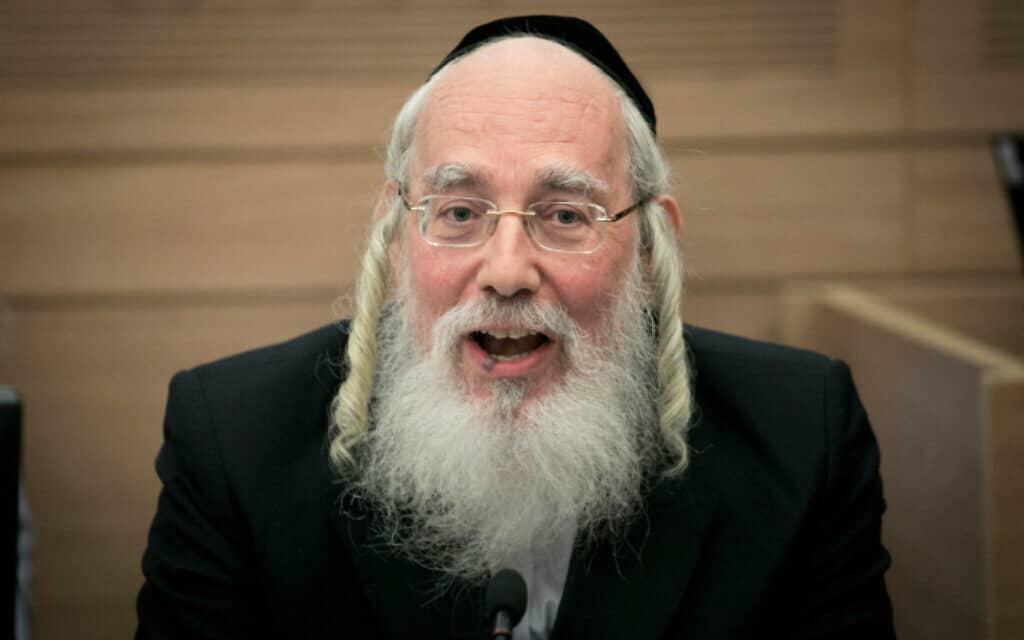 ישראל אייכלר (צילום: יונתן זינדל, פלאש 90)