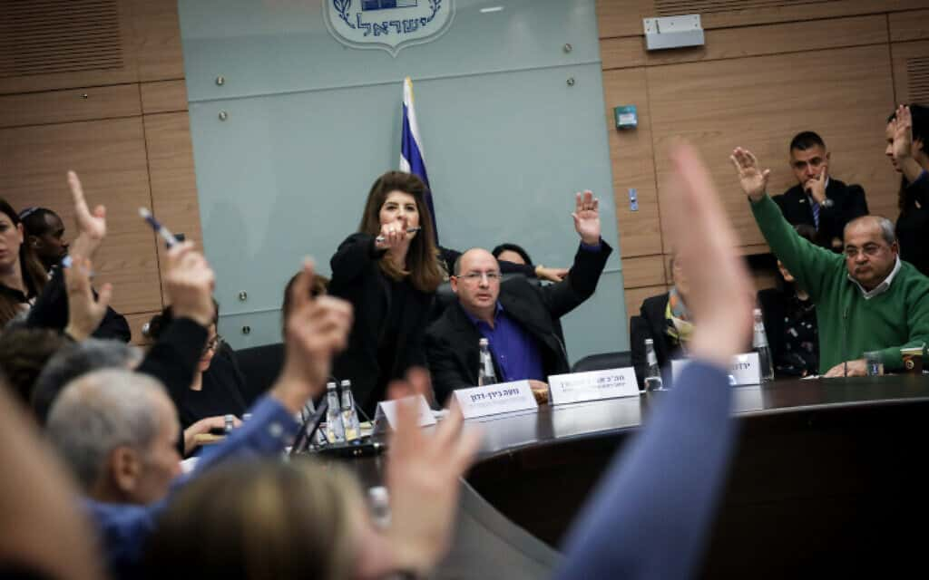 הוועדה המסדרת של הכנסת (צילום: הדס פרוש, פלאש 90)