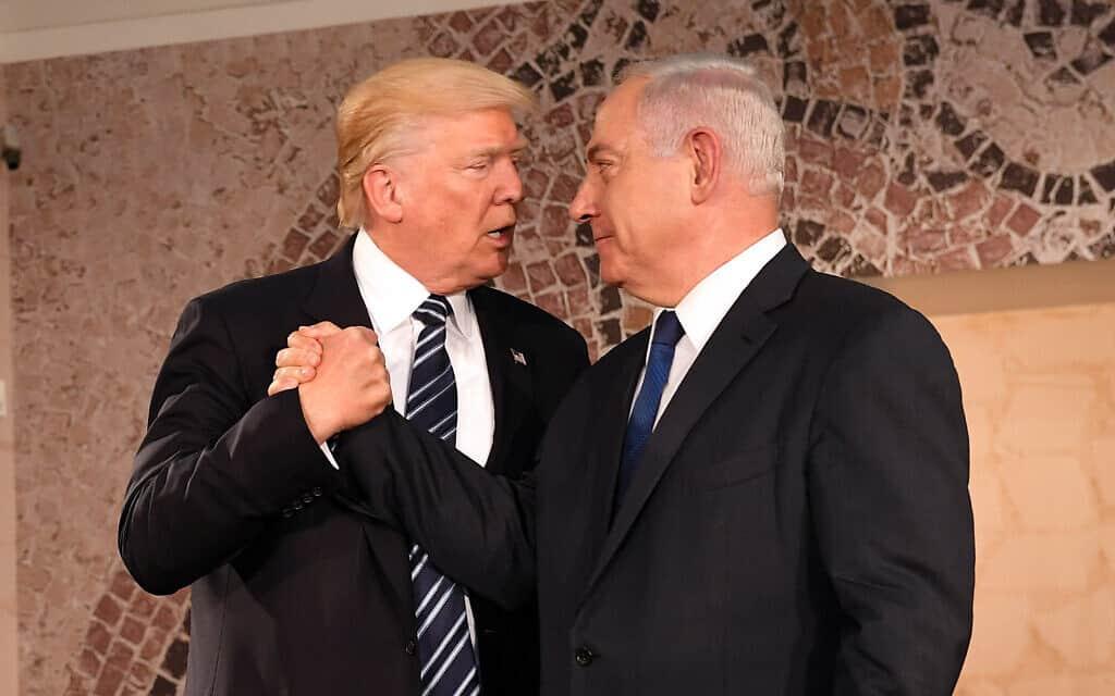 נתניהו וטראמפ, 2017 (צילום: US Embassy Jerusalem, CC BY 2.0)