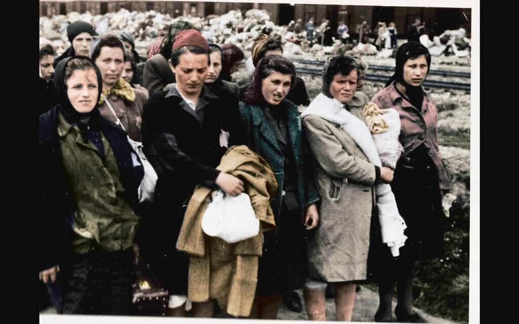 צילם מתוך הסדרה על אושוויץ בצבע (צילום: Serge Klarsfeld/ Lily Jacob-Zelmanovic Meier)