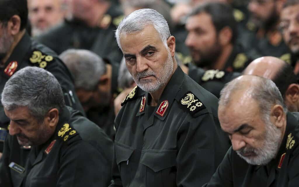 קסאם סולימאני בספטמבר 2016 (צילום: Office of the Iranian Supreme Leader via AP)