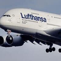מטוס לופטהנזה (צילום: AP)