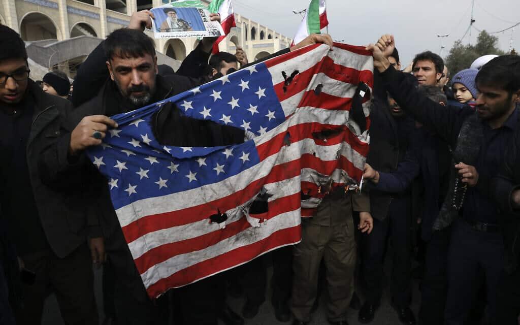 חיסול קסאם סולימאני, 3 בינואר 2020 (צילום: AP)