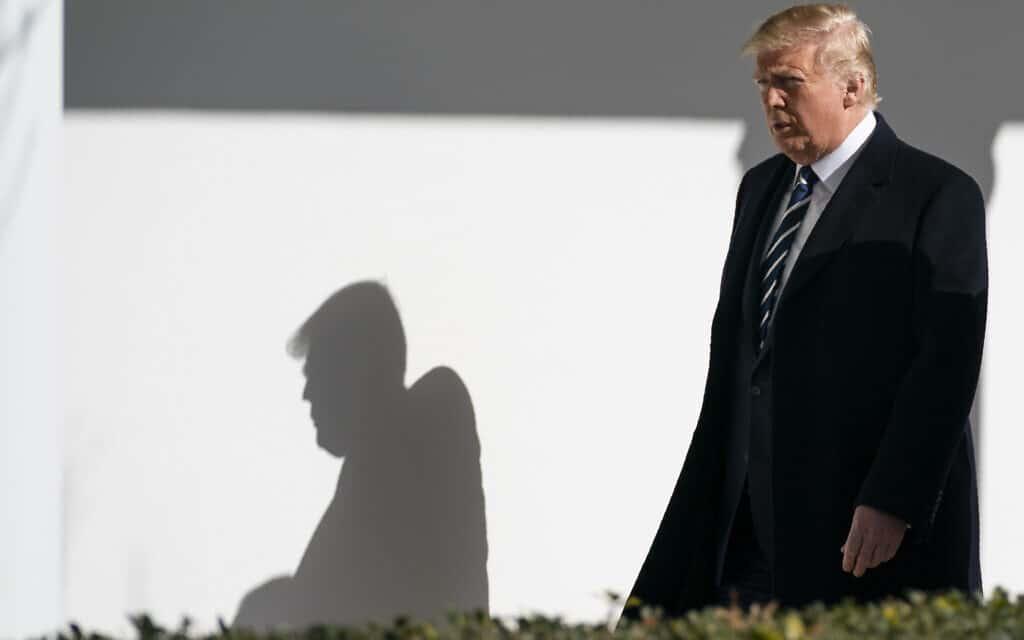 דונלד טראמפ (צילום: Evan Vucci, AP)