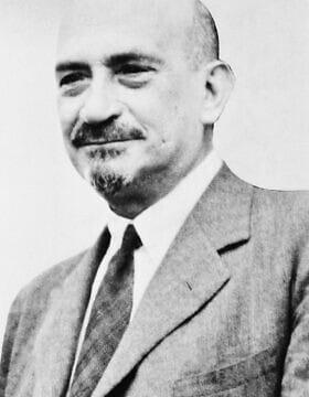 חיים וייצמן (צילום: AP 1938)