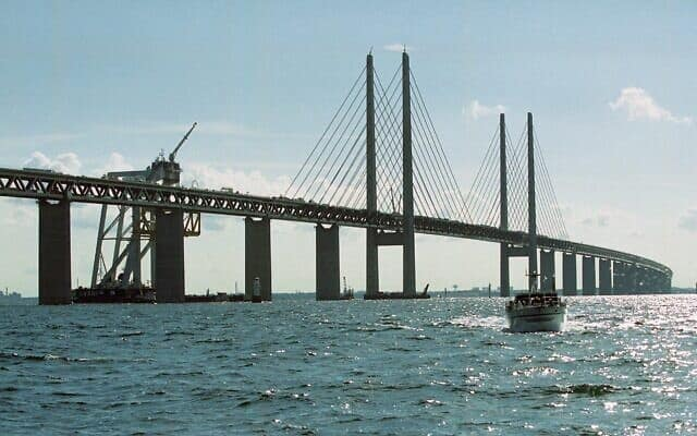 גשר ארסונד (צילום: (AP Photo/Nordfoto, Soreren Madsen))