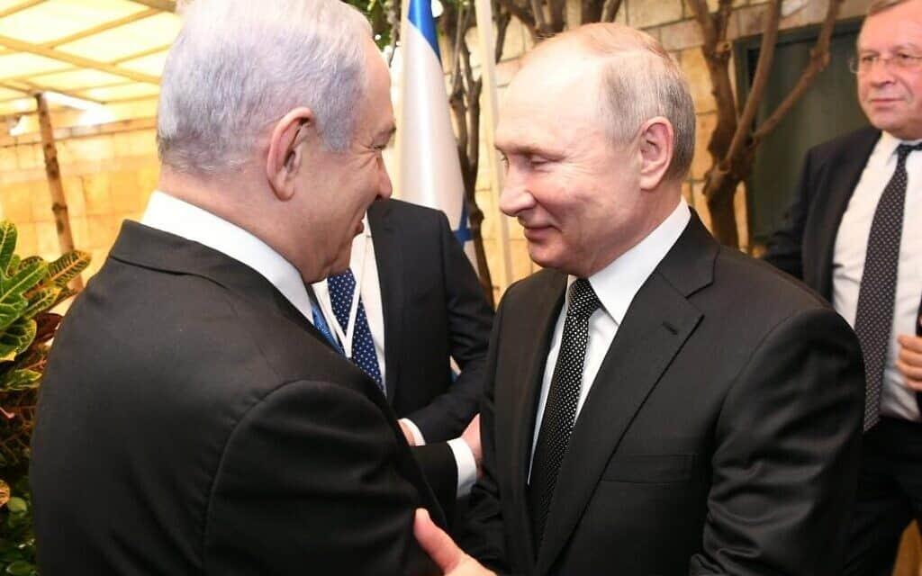 בנימין נתניהו, ולדימיר פוטין (צילום: תקשורת ראש הממשלה)