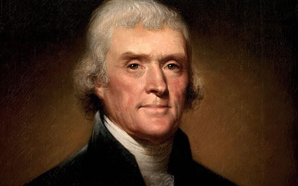 Thomas Jefferson by Rembrandt Peale,1800