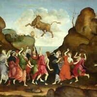 הסגידה לעגל הזהב, צייר: פיליפינו ליפי, המאה ה-15