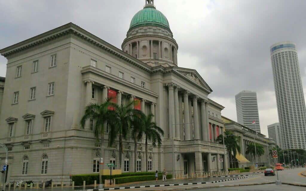 הגלריה הלאומית בסינגפור (צילום: דניאל ראקוב)