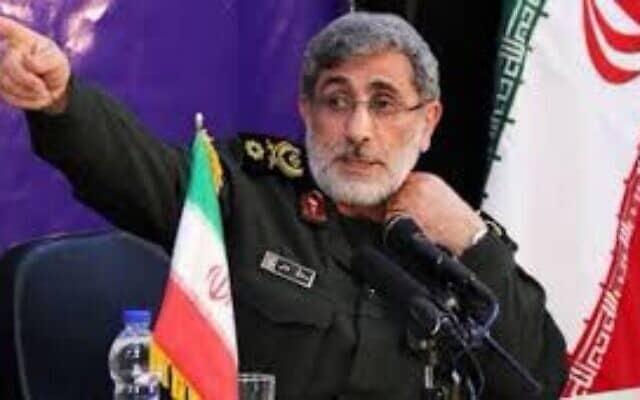 איסמעיל גאני (צילום: סוכנות הידיעות האיראנית תנזיניוז)