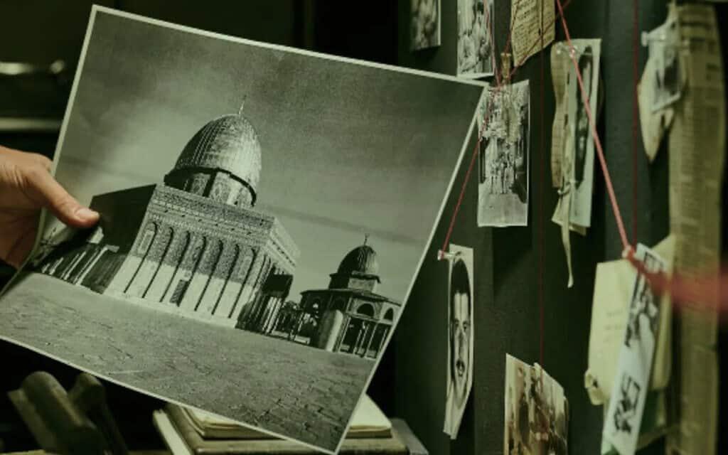 מתוך הסרט ״המחתרת היהודית״ (צילום: דן פרץ/ yes דוקו)