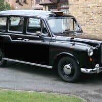 מונית אוסטין בלונדון, 1985 (צילום: MunBill)