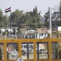 גבול סוריה-ישראל (צילום: Ariel Schalit, AP)
