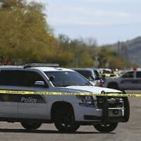 כוחות משטרה בארצות הברית, ארכיון; למצולמים אין קשר לדיווח (צילום: Ross D. Franklin, AP)