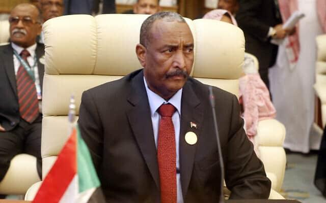 עבדל פאתח בורהאן, ראש המועצה הצבאית השלטת של סודאן, משתתף בפסגה של מנהיגים מהמפרץ במכה, ערב הסעודית. מאי 2019. (צילום: (AP\ אמר נאביל, ארכיון))