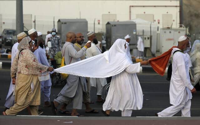 עולים לרגל במכה (צילום: AP Photo/Amr Nabil)