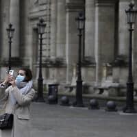 בהלת הקורונה בצרפת (צילום: AP)
